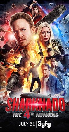 Directed by Anthony C. Ferrante.  With Ian Ziering, Tara Reid, Masiela Lusha, Cody Linley. Fin, his family and the cosmos have been blissfully…