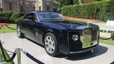 В Италии показали Rolls-Royce Sweptback - самый дорогой автомобиль на планете