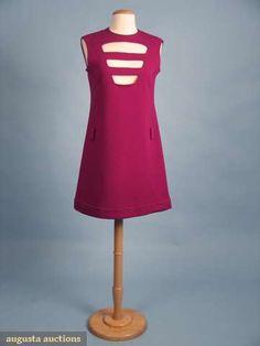 Pierre Cardin Cosmocorps Collection Dress, 1967, Augusta Auctions, April 2009 Vintage Fashion and Textile Auction, Lot 254