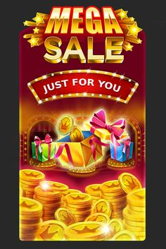 Graphic design of promotional screen for online casinos. http://artforgame.com/