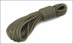 Good ole 1/2 in. nylon static.  Reliable, cheap, good for everything.