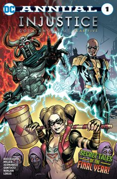 Injustice: Gods Among Us: Year Five (2016) Annual 31 #DC @dccomics #Injustice #GodsAmongUs #YearFive (Cover Artist: David Yardin) Release Date: 11/30/2016