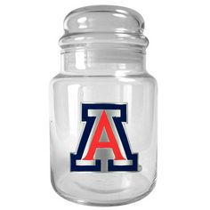 Arizona Wildcats Glass Candy Jar, Multicolor