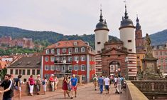Germany, Germany Heidelberg City Gate Old Town Brid Hotels, People Of Interest, Packing Tips For Travel, Study Abroad, Germany Travel, Old Town, Travel Style, Countryside, Travel Photography