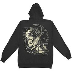 Story So Far Men's Skull Panther Hooded Sweatshirt Black - http://bandshirts.org/product/story-so-far-mens-skull-panther-hooded-sweatshirt-black/