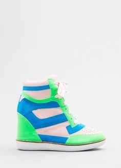 Jeffrey Campbell Hidden Platform Sneaker women new Shoes