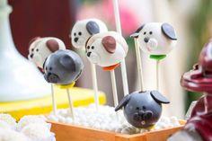 Aniversário de 2 anos do Caê | Macetes de Mãe Animal Party, Baby Shower, Pet Shop, Birthday Party Themes, Cake Pops, Sweets, Puppies, Desserts, 2 Year Anniversary