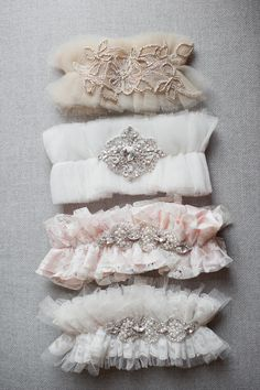 Luxury Wedding Garters » Deeply Adored