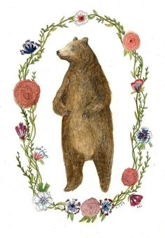 #woodland #nursery #bear