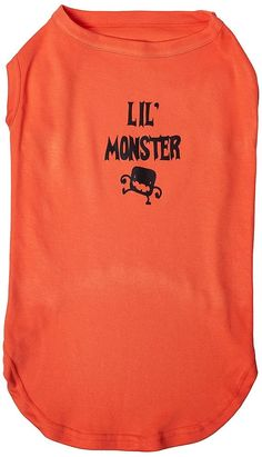 Mirage cat Products Lil Monster Screen Print Shirts Orange XXXL (20) -- Don't get left behind, see this great cat product : Cat Apparel