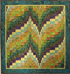 Easy to make Bargello Quilt