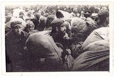 Niedwicza ,Poland, 1940, A deportation of Jews. None will survive when later sent to death camps