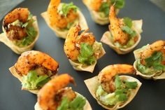 Make and share this Cajun Guacamole Shrimp Cups recipe from Food.com.