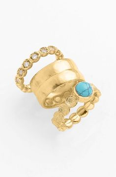 Melinda Maria 'Capulet' Stackable Rings - Can't go wrong with a stack of @Melinda W Maria rings