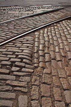Belgian Block paving stones! The gritty soul of East Coast Cities like NY & Philadelphia, & Baltimore