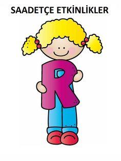Teaching The Alphabet, Alphabet For Kids, Preschool Worksheets, Preschool Activities, Material Didático, The Beach Boys, Christian Devotions, Alice In Wonderland Party, I School