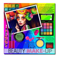 """""""Beauty Make-up."""" by patria ❤ liked on Polyvore featuring beauty, MAKE UP FOR EVER, NYX, Tweezerman, Urban Decay, MAC Cosmetics, NARS Cosmetics, Butter London, Beauty and makeup"""