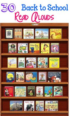 ***Back to School Read Alouds*** 30 books that will allow you to open a discussion and give students opportunities to make connections to your classroom. They also lend themselves well to teaching behaviors and expectations that will be enforced througho 1st Day Of School, Beginning Of The School Year, School Days, School Stuff, School 2017, Read Aloud Books, Children's Books, Library Lessons, Reading Lessons