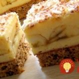 Prudko návykové banánové rezy s vôňou kávy: Úžasný zákusok s luxusným krémom – veľmi, veľmi šťavnatý! Mashed Potatoes, Ethnic Recipes, Food, Haha, Whipped Potatoes, Meal, Mashed Potato Resep, Eten, Meals