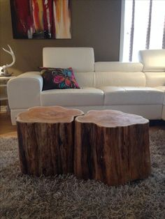 Stump Coffee Tables Serenitystumps.com Tree trunk tables. Stump Coffee Table…