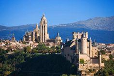 Spanien Alcázar de Segovia