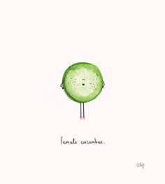 """Alijt Emmens, """"Female Cucumber"""".  :D"""
