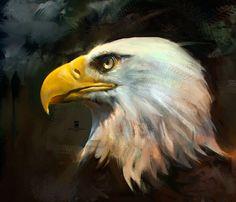 Eagle, psdelux ... on ArtStation at https://www.artstation.com/artwork/bBl3a