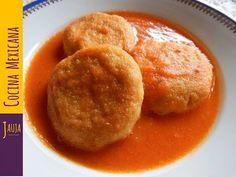 Comida mexicana CHANCLAS POBLANAS receta fácil - Mexican Recipe / Rony en casa - YouTube