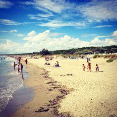 Spiaggia di Marina Romea, Ravenna. #sea #italy