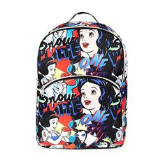Disney Snow White All Over Print Backpack School Bag for Girls ** Check out the image by visiting the link. (This is an affiliate link) Girls Makeup Set, Snow White Pictures, Zipper Parts, Jansport Superbreak Backpack, School Bags For Girls, Girls Gallery, Computer Bags, Cool Backpacks, Kids Bags