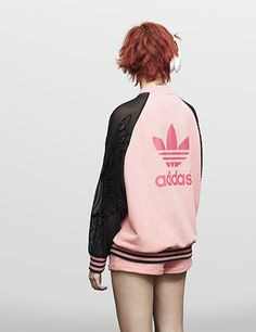 adidas Originals by Rita Ora Pastel Pack collaboration. Check out the look at http://www.adidas.com/us/content/ritaora#pastel_pack/4