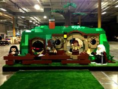 The LEGO Hobbit Hole is Big Enough to Step Inside #lego #toys