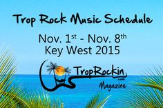 Complete Trop Rock Music Schedule during the week of Meeting of the Minds Parrot Head Convention in Key West. Bookmark this page on your smart phone!