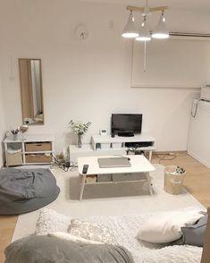 Room Ideas Bedroom, Small Room Bedroom, Bedroom Decor, Apartment Interior, Room Interior, Interior Design, Minimalist Room, Minimalist Home Interior, Aesthetic Room Decor