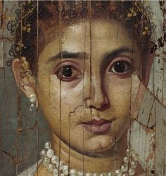 Need to authenticate Ancient Rome, Ancient Art, Ancient History, Egyptian Mummies, Egyptian Art, Mask Painting, Woman Painting, Roman Art, Historical Art