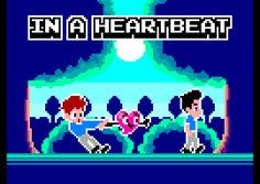 In A Heartbeat, as a retro computer game