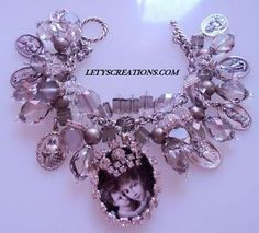 Mother's Day Catholic Virgin Mary Saints Religious Medals Charm Bracelet   eBay www.letyscreations.com