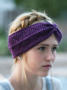 Loom Knitting: Anchor's Away Headband tutorial