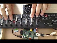 I need to get a Rasberry Pi!  raspberry pi + monotron + puredata= Monotron superchord! - YouTube