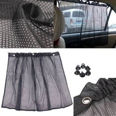 Auto Car Net Curtain Window Sun Shade Shadow Protection Curtain  Worldwide delivery. Original best quality product for 70% of it's real price. Buying this product is extra profitable, because we have good production source. 1 day products dispatch from warehouse. Fast & reliable...