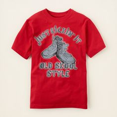 boy - graphic tees - kickin' it graphic tee   Children's Clothing   Kids Clothes   The Children's Place