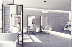 hair salon ~ Enrico Zanolla | design studio