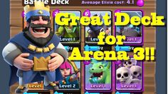Clash Royale Arena 3 Deck | Best Match Ever!!!  YouTube http://ift.tt/1STR6PC