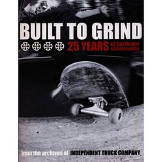 BUILT TO GRIND BOOK
