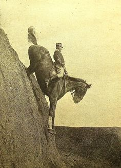 Italian Cavalry School at Tor di Quinto, 1906 Who can do it now?