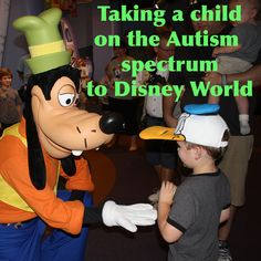 Taking a child on the Autism spectrum to Disney World