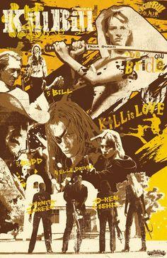 Kill Bill - poster (fan art)