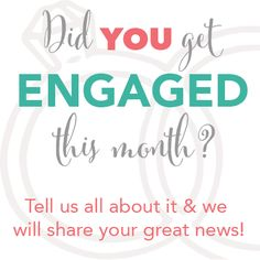 Did you have an extra special Thanksgiving this year?  Tell us all about it and we will help share your wonderful news!  http://www.beaufortbride.com/engagement-announcements #engagement #smile #beaufortbride