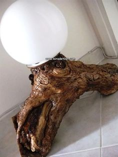 Zek-001 Wood Design Lamp - info@biradetvar.com