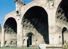 Basílica de Majencio (Roma). 200-215